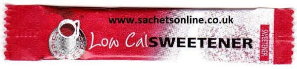 Low Cal SWEETENER - single portion sachet sticks